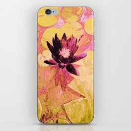 Colours WaterLily iPhone Skin