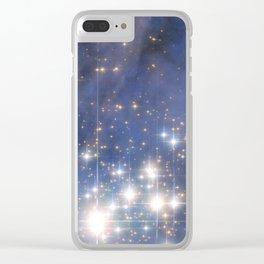 Star Cluster Trumpler 14 Clear iPhone Case