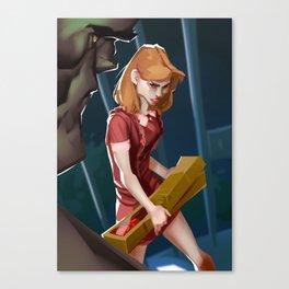 Sarah Conner Canvas Print