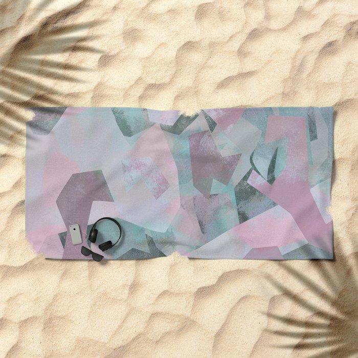 Camouflage XVII Beach Towel