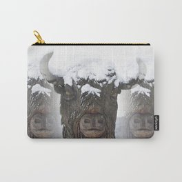 Bisons Carry-All Pouch