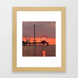 Eye of the Sun Framed Art Print