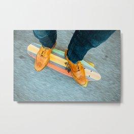 classy skate Metal Print