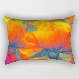 Floral abstract 95 Rectangular Pillow