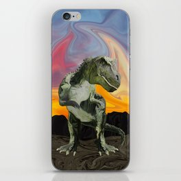 Tyrannosaurus Rex at the Twilight Hour iPhone Skin