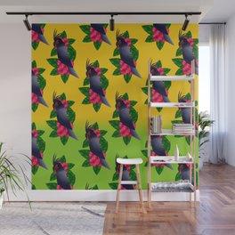 Palm Cockatoo (Probosciger aterrimus) Wall Mural