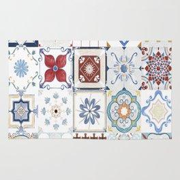Retro Tiles Rug