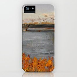 Autumn at the province. iPhone Case