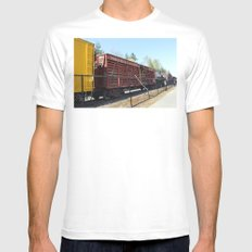 The Line Up Mens Fitted Tee White MEDIUM