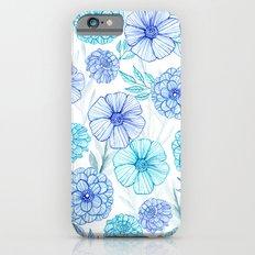 Blue garden iPhone 6s Slim Case