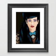 Dream Lady Framed Art Print