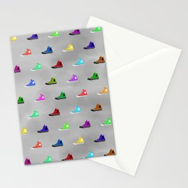 Rock shoes Stationery Cards