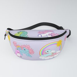 g1 my little pony babies pattern Fanny Pack