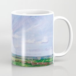 Summer spirit - Glastonbury Tor, Somerset, England Coffee Mug