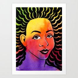 I See Color Art Print