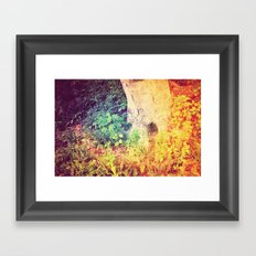 Dreaming in Color (of Another World) Framed Art Print