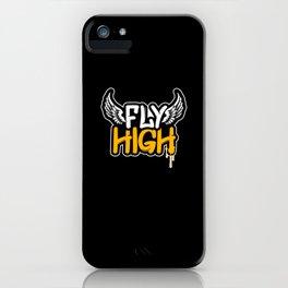 Graffiti Fly High iPhone Case