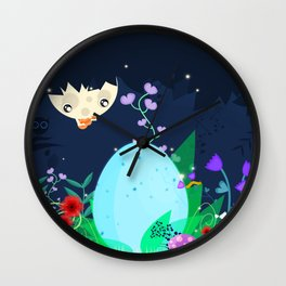 Is it a pixie or a dragon ? Wall Clock