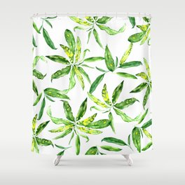 HAWAIIAN PATTERN Shower Curtain