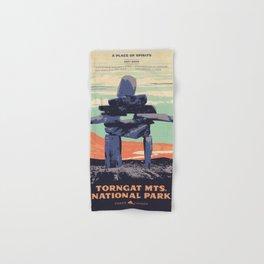 Torngat Mountains National Park Poster Hand & Bath Towel