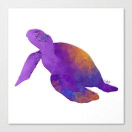 Tenacious Turtle Canvas Print