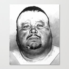 David Martinez mugshot Canvas Print