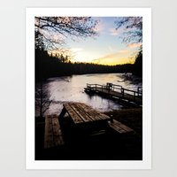 finland Art Prints featuring Finland by gabsgorman