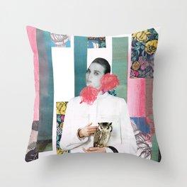 HOLLOW FACES SERIES Throw Pillow