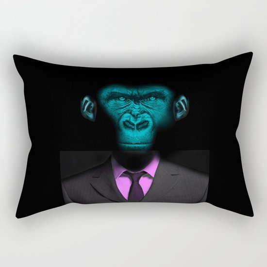 Monkey Suit Rectangular Pillow
