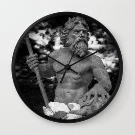 Neptunes Storm Wall Clock
