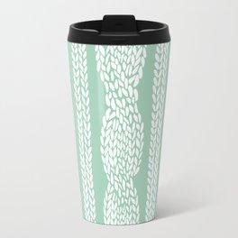 Cable Mint Travel Mug