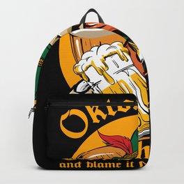 Oktoberfest Get Fucked Up Backpack