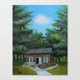 Summer at the Cabin Canvas Print