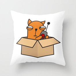 Box Throw Pillow