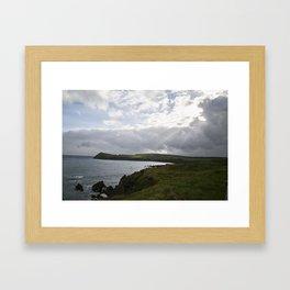 Irish Break-through Framed Art Print
