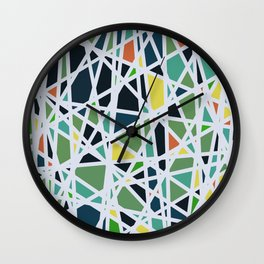 Abstract Composition 519 Wall Clock