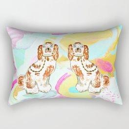 BETTY ON ABSTRACT Rectangular Pillow
