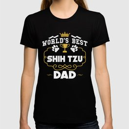 World's Best Shih Tzu Dad T-shirt