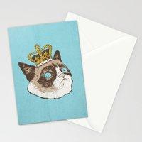 Grumpy King Stationery Cards