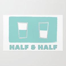 half & half Rug