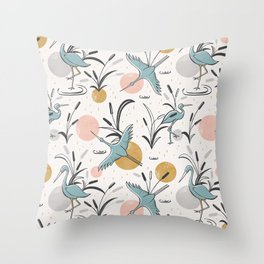 Marshland Throw Pillow