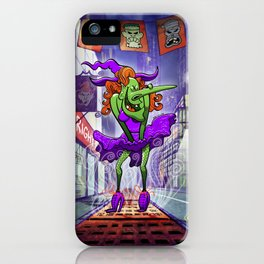 Sexy Witch iPhone Case