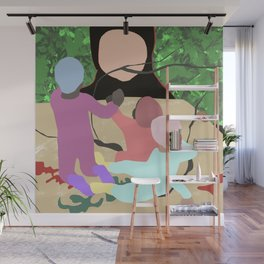 Forest Miro Wall Mural