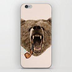 Angry Bear iPhone & iPod Skin