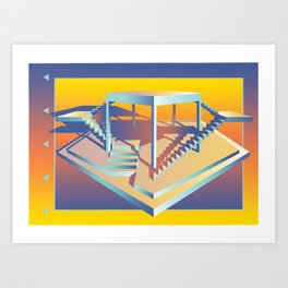 Life is But a Stage Art Print