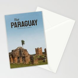 Visit Paraguay  Stationery Cards