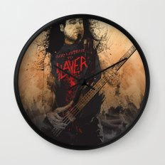 Tom Araya Wall Clock