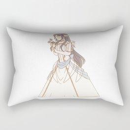 bride lucina Rectangular Pillow