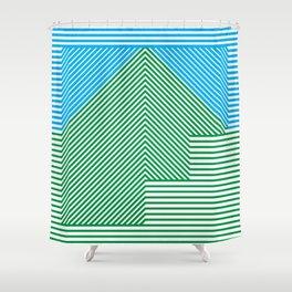 fF Shower Curtain