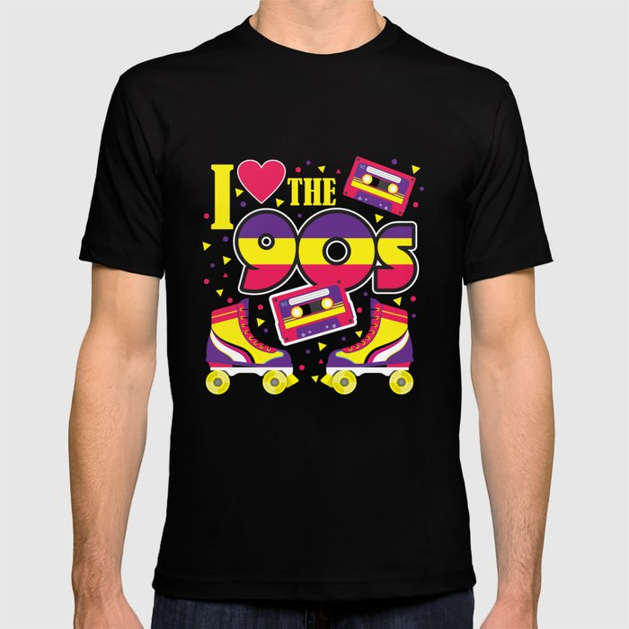I love the 90 - Retro 90er Years T-shirt